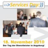 Services Day 2010 - der Tag der Dienstleister am 18. November in Augsburg