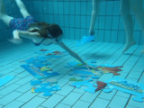Unterwasser Puzzlen, ein ganz neuer Spaß