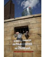 """Reporter ohne Grenzen – Aktion 2008 : """"Gefängniszelle"""""""