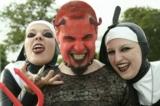Teufel feiern Fasching mit Flirtpub.de Fotograf: Martin Müller / Pixelio.de