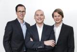 Management von eprofessional, v.l. H.Weißensteiner (CSO), Ben Prause (CEO), Thomas Nuss (COO)