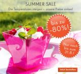 Summer Sale bei weddix