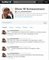 Zeitreise @twitter von oliver w. schwarzmann