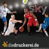 """Die Sky-Initiative """"Dein Trikot 2011"""" wird von der Onlinedruckerei Onlineprinters GmbH unterstützt."""