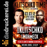 Onlinedruckerei sponsert WM-Fight (c)Klitschko Management Group GmbH