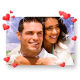 Liebevolle Geschenkidee zum Valentinstag - Poster in Hochgla