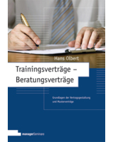 Trainingsverträge - Beratungsverträge