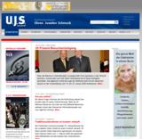 Startseite der neuen U.J.S.-Website