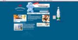Lichtenauer Trink-Widget auf der Marken-Website