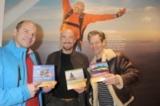 Adrenalin Shop eröffnet mit prominenter Hilfe: Marc Girardelli, Jochen Schweizer und Steffen Wink