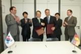 Unterzeichnung des wissenschaftlichen Kooperationsabkommens