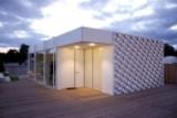 """Das prämierte """"Rosenheimer Solarhaus"""" von den Hochschulstudenten aus Bayern © Oliver Pausch"""