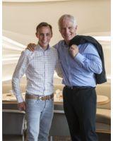 Die richtige Kombination macht's! Der Nordische Kombinierer Eric Frenzel (li.) und  Theo Bergauer