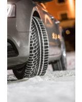 Neuer sportlicher Nokian WR A4 Winterreifen: High-Performance + Wintergriff    Foto: Nokian Tyres