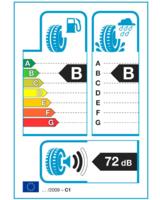 EU Reifen-Klassifizierungs-Etikett informiert über wichtige Umwelteigenschaften   Foto: Nokian Tyres