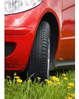 Nokian-Öko-Reifen sparen einen halben Liter Sprit und fahren sicher auch bei Nässe      Foto: Nokian