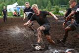 Sumpf-Fußball im Matsch unter schwierigen Bedingungen bringt Freude    Foto: Nokian Tyres