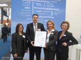 Deutsche Messe AG ehrt HS für 20. CeBIT-Teilnahme.