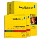 Rosetta Stone Version 3 Englisch mit Audio Begleiter
