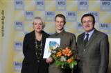 Oliver Kienle mit dem Thomas Strittmatter Preis