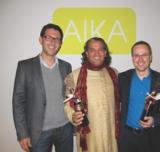 Henning Schürig (rechts) und Sanjay Sauldie referierten u. a. beim AIKA-Thementag