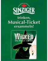 Sinziger und die Hexen von Oz: Hauptakteure einer magischen Promotion.