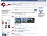 DFKOM-Seite auf Facebook