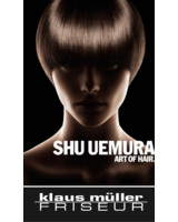 Klaus Müller Friseur bietet jetzt Shu Uemura Produkte