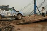 Überfahrt nach Laos, mit Fähre über den Mekong