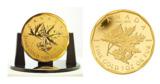 Weltgrößte Goldmünze - Maple Leaf aus Kanada