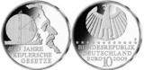 Deutsche 10-Euro-Silber-Gedenkmünze würdigt den berühmten As