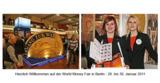 Herzlich Willkommen: WORLD MONEY FAIR 2011