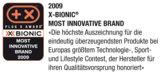 X-BIONIC: Most Innovative Brand 2009