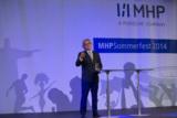Begrüßungsrede von Dr. Ralf Hofmann, Vorsitzender der Geschäftsführung von MHP (Quelle: MHP)