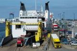 Bsp. für umweltfreundlichen Güterverkehr im Hafen Rostock