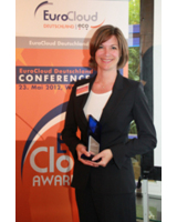 EuroCloud Deutschland Awards 2012: Frauke Heistermann, AXIT AG