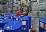 TST Mitarbeiter kümmern sich u.a um Lagerlogistik und Qualitätskontrollen für Procter & Gamble