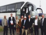 US-Verkehrsexperten mit deutschen Kollegen auf ShortSea-Tour entlang der deutschen Küste.