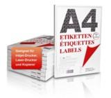 Mediaform hat sein Portfolio um Etiketten für den Laserdruck im DIN A4 Format erweitert.