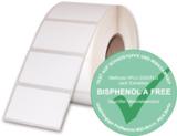 Mediaform verwendet ausschließlich Thermodirekt-Etiketten, die kein Bisphenol A (BPA) enthalten.