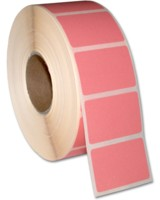 Mediaform bietet farbige Laboretiketten für den Thermodirektdruck an, etwa für Eilfälle.