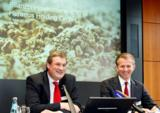 Heraeus Holding Geschäftsführung: v.l.n.r.: Dr. Frank Heinricht (Vors.), Jan Rinnert