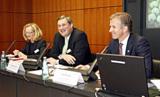 v.r.n.l.: Jan Rinnert, stv. Vorsitzender; Dr. Frank Heinricht, Vorsitzender