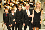 5 Mal Note1: Mark Kedzierski,Daniel Zindel,Lukas Zientek,Frederik Roth,Birgit Kellmereit (von links)