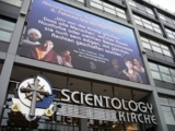 Scientology Kirche und Menschenrechts-Plakat
