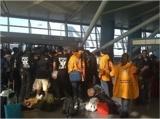 Ehrenamtliche Scientology Geistliche am Flughafen