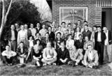 Kursteilnehmer und L. Ron Hubbard in Phoenix, Arizona, 1954