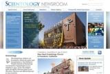 neue Internetseite der Scientology Kirche