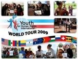 """6te Menschenrechts-Welttour von """"Youth for Human Rights"""""""