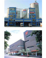 Tokyo Cement in Sri Lanka und Rockworth Systems in Südindien
